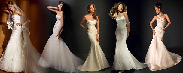 Vestidos de noiva estilo sereia!