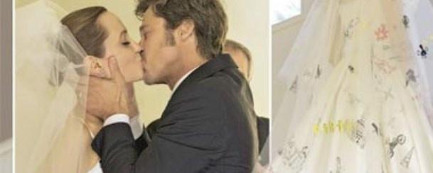Fotos do casamento de Angelina Jolie!