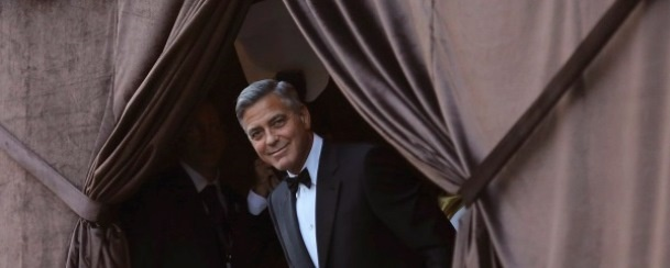 As fotos do casamento de George Clooney e Amal!
