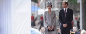 Kate Middleton reapareceu em público!